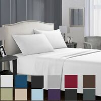 1800 Count Hotel Luxury Egyptian Comfort 4P Sheets Deep Pocket Bed Sheet Set
