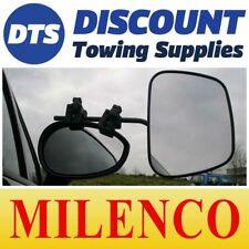 Milenco Grand Aero Caravan Car Towing Flat Glass Mirrors With Carry Bag 2073
