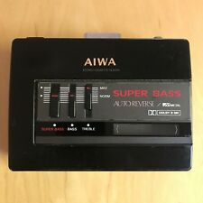 VINTAGE AIWA SUPER BASS STEREO CASSETTE PLAYER HS-G37