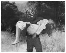 1956's THE DAY THE WORLD ENDED monster & girl b/w 8x10 scene still #1