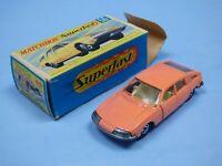 Matchbox Superfast 56 BMC 1800 Pininfarina Peach PINK Hollow Wheels Rare Toy Car