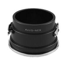 Arri / S-NEX Adaptador Objetivo Arriflex S Para sony E-Mount Nex Cámara