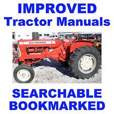 Allis Chalmers AC D-21 D21 II 2 Tractor SERVICE REPAIR SHOP MANUAL - IMPROVED CD
