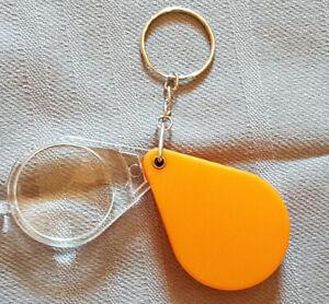 Lupe 10 fach Schlüsselanhänger
