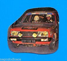 SUPER AUTO - Panini 1977 -Figurina-Sticker n. 104 - FIGURINA SAGOMATA -Rec