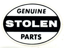 Genuine Stolen Parts sticker hot rod race ed big daddy roth decal motorcycle
