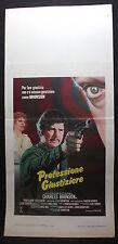 LOCANDINA CINEMA - PROFESSIONE GIUSTIZIERE - C. BRONSON - 1984 - AVVENTURA