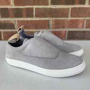 Aldo Grey Suede slip on Fashion Sneakers Men's US size 9 New