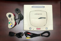 Sega Saturn console white working condition Japan SS system US Seller