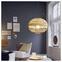 Pendelleuchte braun E14 Küche Stahl Vintage Wohnzimmer
