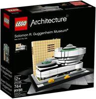 LEGO Architecture Solomon R. Guggenheim Museum 2017 (21035) Building Kit 744 Pcs