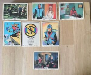 ANGLO Captain Scarlet and the Mysterons Cards 1967 !! Pick what you need !!