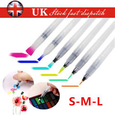 6X Set Refillable Pilot Water Brush Ink Pen for Paint Calligraphy Watercolor UK