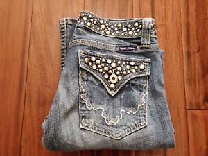 Miss Me Jeans Women's Bootcut 26 Waist JP42885