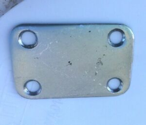 Chrome Vintage Teisco Univox Kawai Guitar Neck Plate ~ Made In Japan