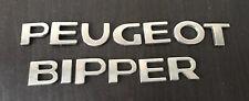 PEUGEOT BIPPER rear badge logo emblem  (C75)