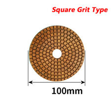4 100mm Diamond Grinder Discs Rough Grinding Pads For Granite Marble 50 400