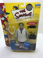 2001 Playmates The Simpsons Dr. Hibbert Interactive Figure (NEW)