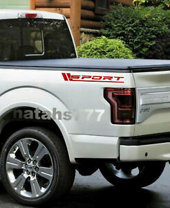 SPORT FORD F150 F250 F350 Truck Dually XLT XL 4x4 Decal sticker emblem logo 2pcs