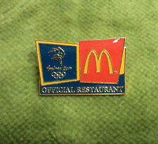#P286.  SYDNEY 2000 OLYMPIC PIN - McDONALDS