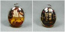 NUDE 9 Tailed Fox Lady Gems Oil Takrut INN Kru Ba Beng EROTIC Buddha Thai Amulet