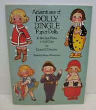 Adventures of Dolly Dingle Paper Dolls by Grace Drayton 1985 Dover Uncut