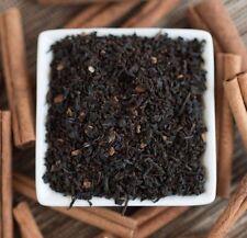 Cinnamon Black Organic Tea - choose loose leaf or in tea bags - naturally sweet