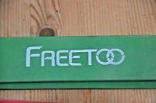 3 FREETOO 100 % Naturlatex Widerstandsbänder Pilates, cross fitness, yoga Sport