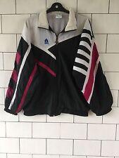 Unisexe Vintage Old School Retro Années 80 Crazy gras shellsuit Windbreaker Jacket #53