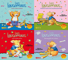 Maxi Pixi Leo Lausemaus Bilderbücher 4 Hefte Leo Lausemaus Serie 3 + BONUS