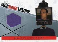Big Bang Theory Seasons 3 & 4 Sheldon's T-Shirt Wardrobe Costume Card M-01.1