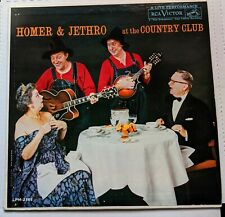 Homer and Jethro At The Country Club A Live Performance LPM 2181 Mono LP