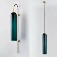 Glass Pendant Light Bar Modern Lamp Bedroom Wall Sconce Kitchen Pendant Lighting