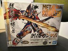 Bandai Chogokin Metal Robot Spirits Liubei Gundam (Real Type ver.) Brand New!!