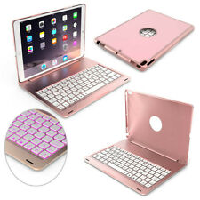 """For iPad 9.7"""" 6th Generation 2018 Backlit Aluminum Bluetooth Keyboard Case Cover"""