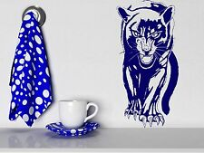 Wall Sticker Vinyl Decal Panther Roar Jungle Hunter Big Cat Animal Decor (m313)
