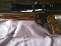 Custom made Thompson Center Contender grip and forend
