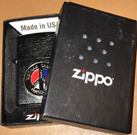 Vietnam Cambodia Laos War Games Participant Zippo Lighter Pease Sign New In Box