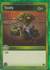 1 x Bakugan `Battle Brawlers Planet Toxify Action Card - ENG 133 CO BB  New