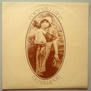 Tickawinda - Rosemary Lane - Vinyl LP UK 1st Signed Private Press Rare Folk NM