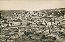 A Bird's Eye View Of Nazareth, Israel, RPPC