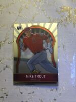 2011 Mike Trout Topps Finest RC, Rookie Card #94, MVP, L.A. Angels