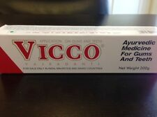 200g  Vicco Vajradanti Herbal Tooth Paste--  For Gums&Teeth-US Seller