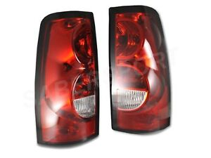 Pair Eagle Eyes OE Style Taillights for 2003-2006 Chevrolet Silverado 1500 2500