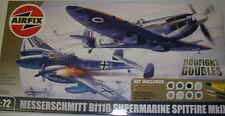 Airfix A50036 - Dogfight Doubles Set, Messerschmitt + Spitfire  1:72 Plastic Kit