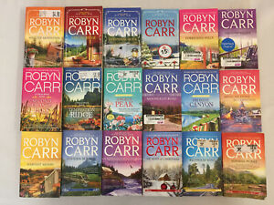 Virgin River Novels 1-18 by Robyn Carr Shelter Mountain Sunrise Point MMPB Lot
