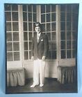 1930s ACCA Temple Shriner Portrait Photo with Fez Original 1st Generation Image
