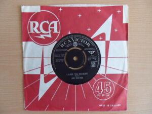 "Jim Reeves - I Love You Because  (7"" Vinyl)"