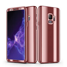 360° Plating Phone Case Slim Full Cover Samsung Galaxy S20 S10 S9 S8 Note 10 9 8