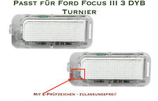 LED SMD Kennzeichenbeleuchtung für Ford Focus III 3 DYB Turnier (S1)